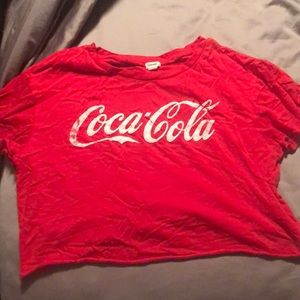 Cocoa cola cropped T-shirt